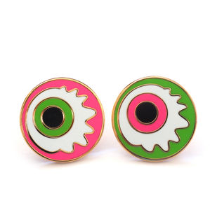 Eyeball Pin Badge