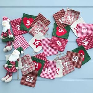Christmas Advent Garland - advent calendars