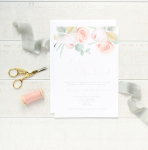 Dream Garden Wedding Stationery Invitation