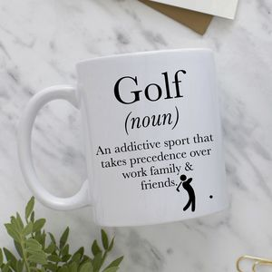 Definition Of Golf Mug - golf