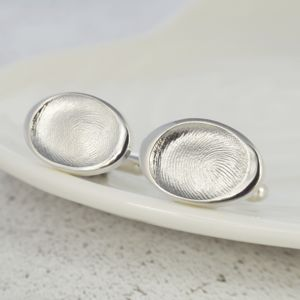 Fingerprint Cufflinks - cufflinks