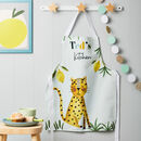 Children's Jungle Safari Animal Apron
