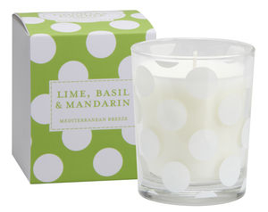 Polkadot Scented Candle