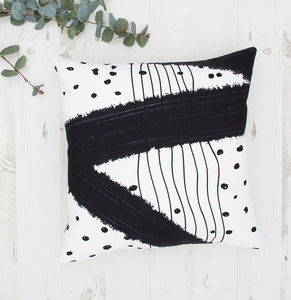 Brush Strokes Cushion