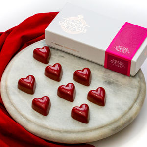 Salted Caramel Hearts - novelty chocolates