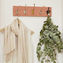 Ziggy Fabric Mismatched Coat Rack With Five Hooks