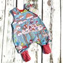 Gnomes Baby Romper