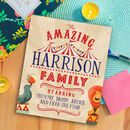 Personalised Amazing Family Story Book
