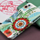 Floral iPhone And Samsung Galaxy Case Design