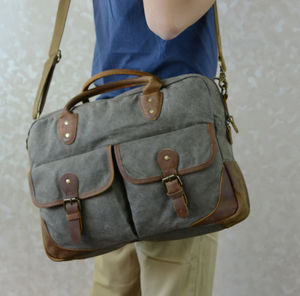Canvas Laptop Bag Gift For Him
