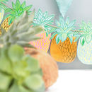 Tropical Pineapple Garland