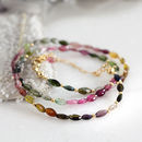 Multi Colour Tourmaline Necklace