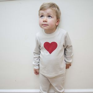 Toddler Gift Valentines Heart Pyjamas
