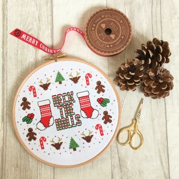 Deck The Halls Cross Stitch Kit