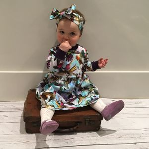 Hummingbird Baby And Toddler Girls Winter Dress - dresses