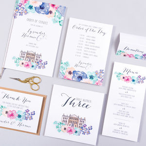 Table Plan, Numbers, Place Cards, Menus : Midsummer