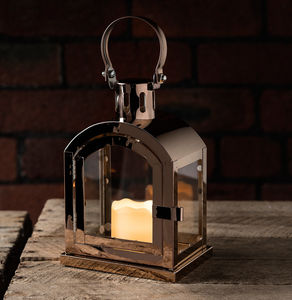 Copper Miner's LED Candle Lantern - lights & lanterns