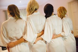 Personalised Wedding / Hen Party Dressing Gown - women's fashion