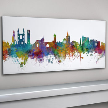 St Andrews Skyline Panoramic Canvas