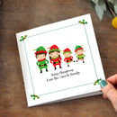 Elf Family Personalised Cards