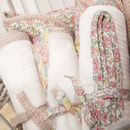 Gift Set Of Fab Floral Muslin Baby Swaddles