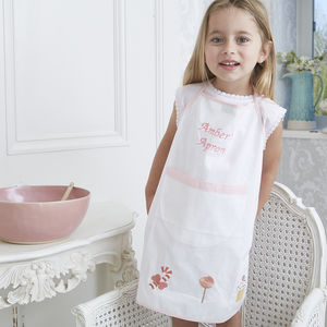 Personalised Girl's Gingerbread Apron