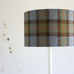 Harris Tweed Lampsahdes - bedroom