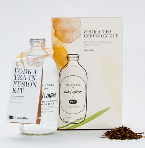 London Vodka And Earl Grey Tea Infusion Kit - drinks connoisseur