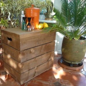 Vintage Style Double Crate - furniture
