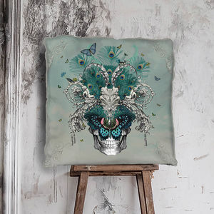 Baroque Skull Cushion - what's new