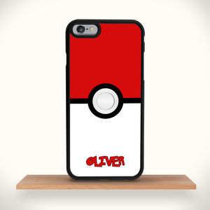 Pokeball iPhone Case Personalised