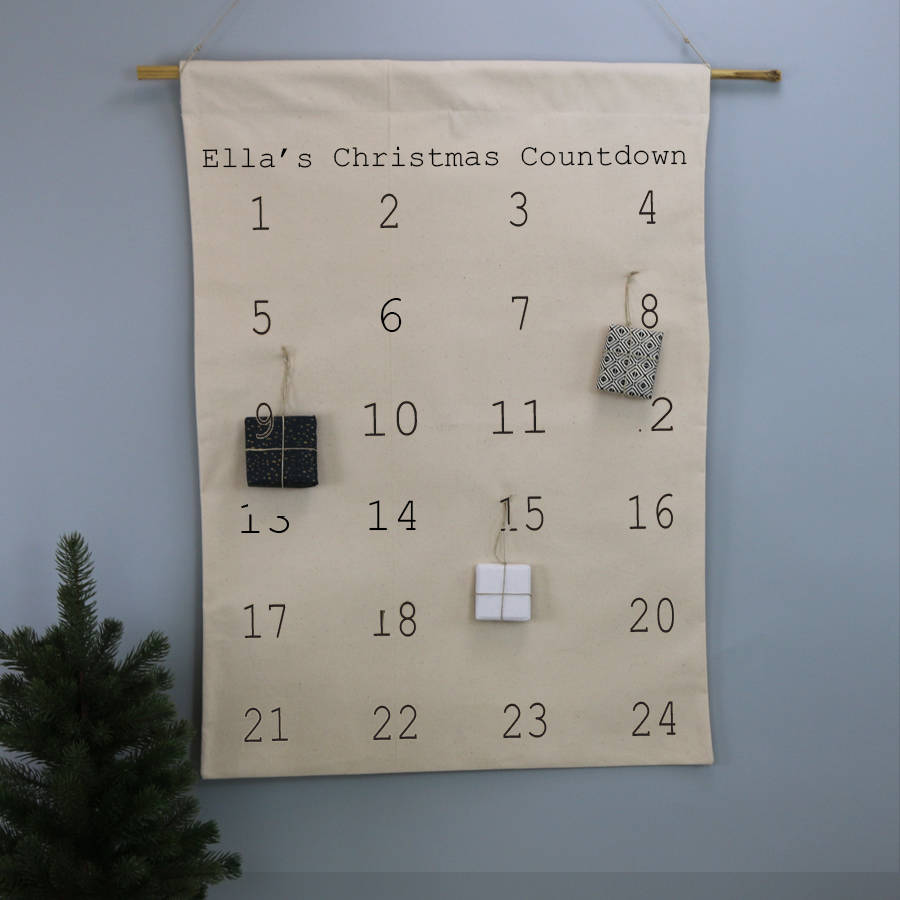 Minimalist Advent Calendar : Minimalist advent calendar by minna s room