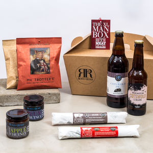 The Xl Man Box - food & drink sale