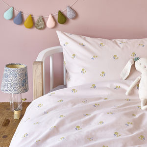 Flora Duvet Set In UK Single