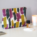 Lucia Toiletry Bag, Abstract Pattern Wash Bag