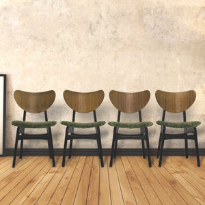 Set Of Four Retro G Plan Butterfly Dining Chairs - furniture