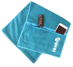 Split Pocket Sweat Towel - bathroom