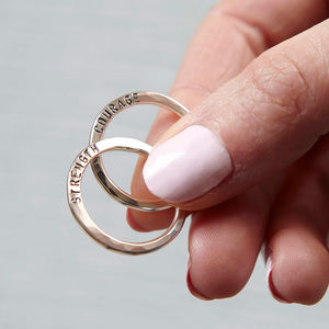 Personalised Verse Ring - rings