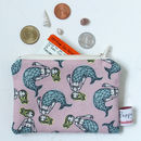 Mermaid Small Zipped Coin Purse