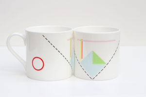 Bone China Mug Water