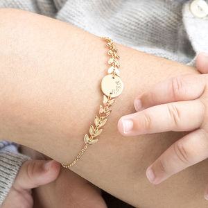 Personalised Laurel Chain Bracelet - top picks jewellery
