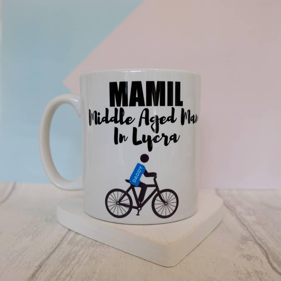 Dad's Lycra Loving Cycle Mug