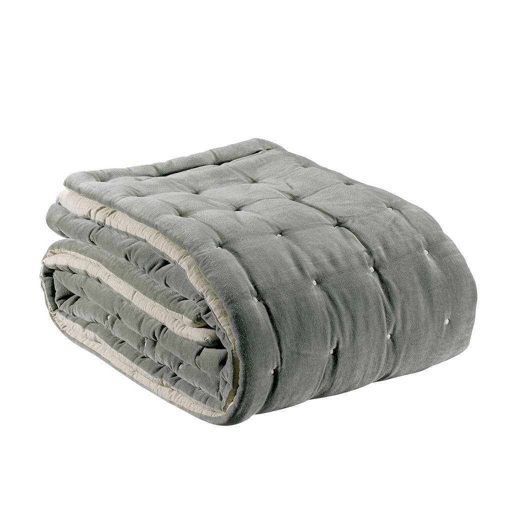 Lovely quilted velvet throw by idyll home | notonthehighstreet.com VS06