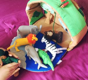 Wild Animal Soft Play Safari Park - pretend play & dressing up