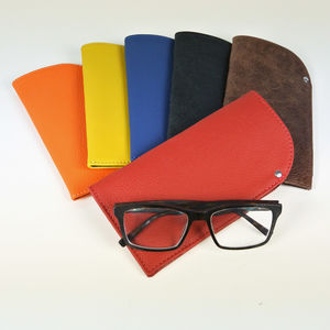 Handcrafted Leather Glasses Case