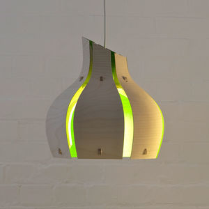 Onion Inspired Colour Pendant Light