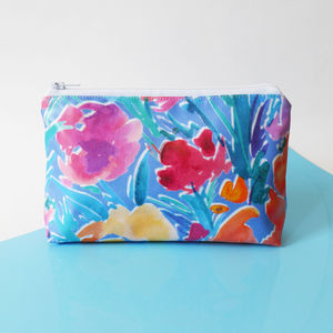 Floral Makeup Bag - make-up & wash bags