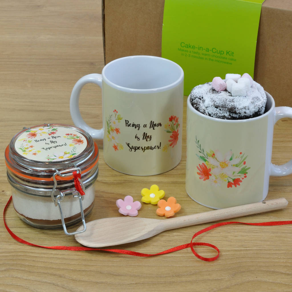 Babyshower Or New Mum Chocolate Mug Cake Gift Set