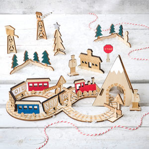 Advent Train Calendar - christmas home accessories