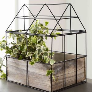 Industrial Greenhouse Planter